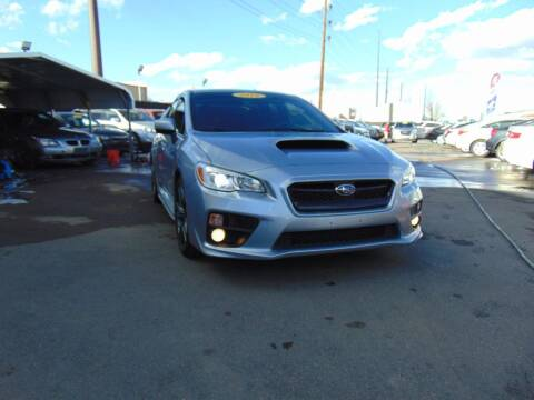 2016 Subaru WRX for sale at Avalanche Auto Sales in Denver CO