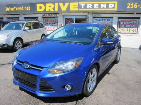2013 Ford Focus for sale at DRIVE TREND in Cleveland OH