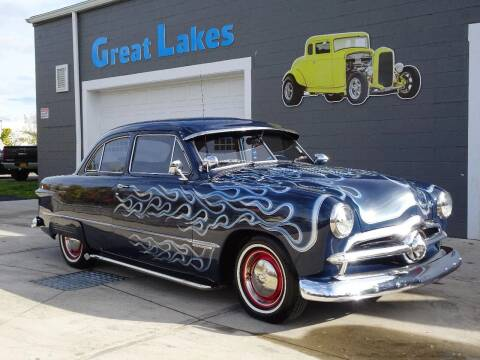1949 Ford Deluxe for sale at Great Lakes Classic Cars & Detail Shop in Hilton NY