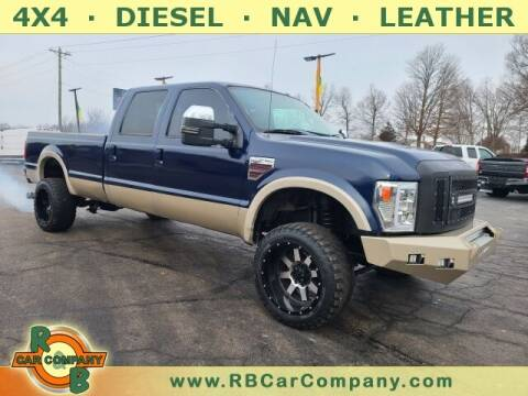 2008 Ford F-350 Super Duty for sale at R & B CAR CO - R&B CAR COMPANY in Columbia City IN