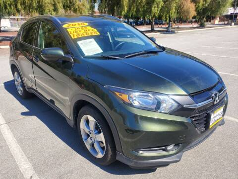 2016 Honda HR-V for sale at ALL CREDIT AUTO SALES in San Jose CA