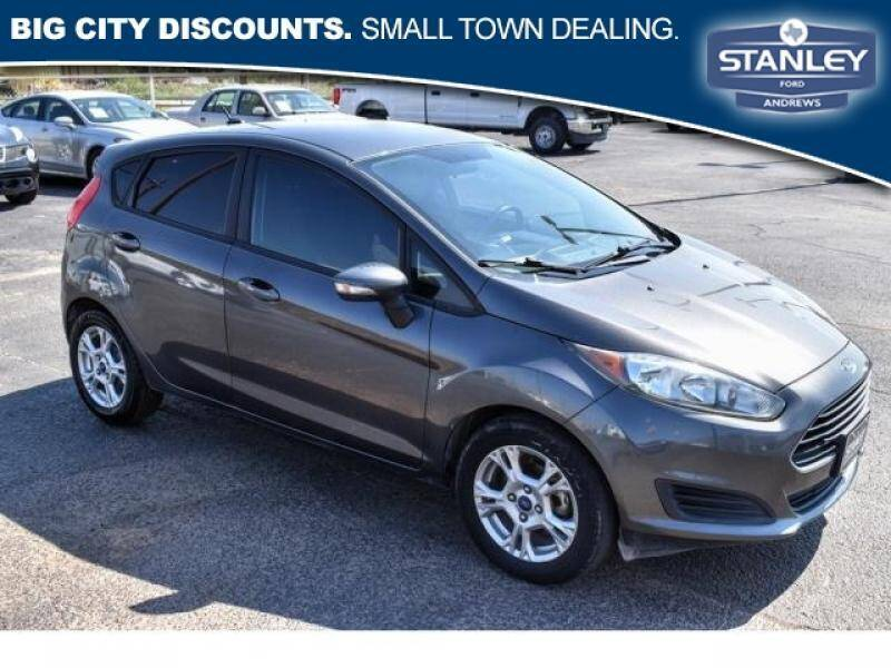 2015 Ford Fiesta for sale at Stanley Automotive Finance Enterprise - STANLEY FORD ANDREWS in Andrews TX