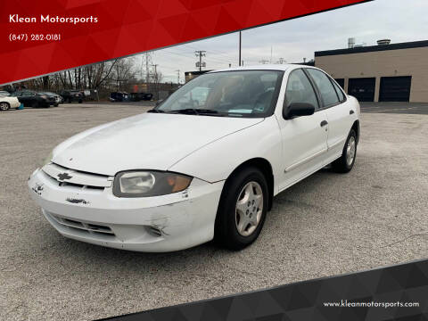 2004 Chevrolet Cavalier for sale at Klean Motorsports in Skokie IL