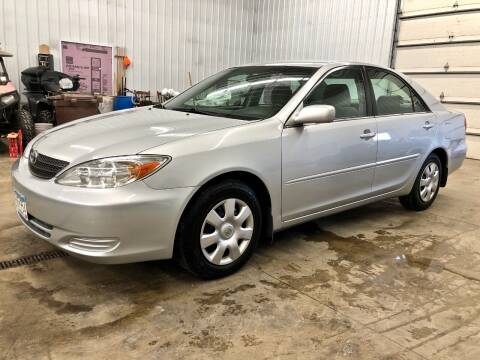 2002 Toyota Camry for sale at S&J Auto Sales in South Haven MN