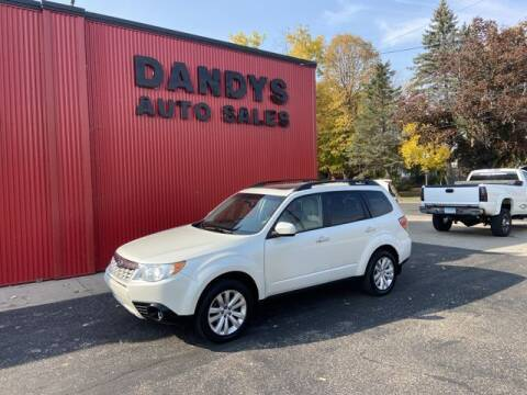 2013 Subaru Forester for sale at Dandy's Auto Sales in Forest Lake MN