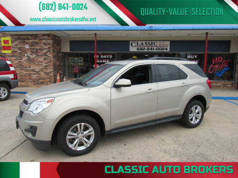 2012 Chevrolet Equinox for sale at Classic Auto Brokers in Haltom City TX