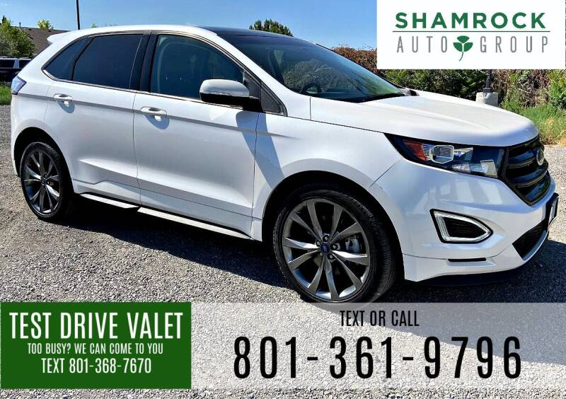 2017 Ford Edge for sale at Shamrock Group LLC #1 in Pleasant Grove UT