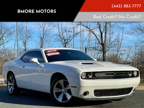 2015 Dodge Challenger for sale at Bmore Motors in Baltimore MD