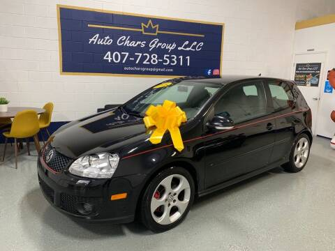 2008 Volkswagen GTI for sale at Auto Chars Group LLC in Orlando FL