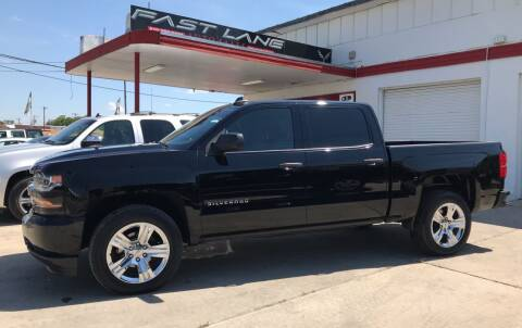 2018 Chevrolet Silverado 1500 for sale at FAST LANE AUTO SALES in San Antonio TX