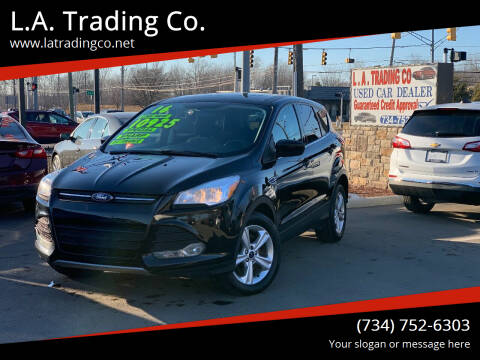 2016 Ford Escape for sale at L.A. Trading Co. Woodhaven - L.A. Trading Co. Detroit in Detroit MI