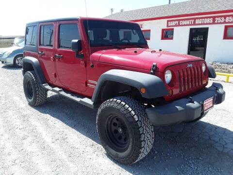 2012 Jeep Wrangler Unlimited for sale at Sarpy County Motors in Springfield NE