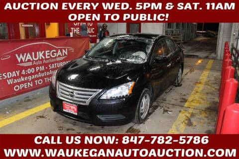 2013 Nissan Sentra for sale at Waukegan Auto Auction in Waukegan IL