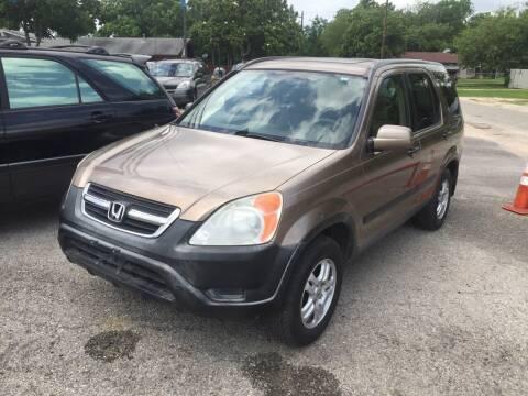 2003 Honda CR-V for sale at John 3:16 Motors in San Antonio TX