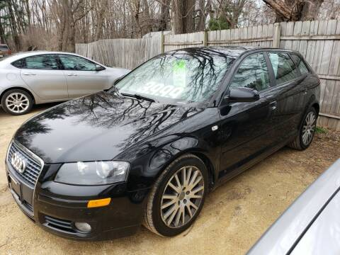 2006 Audi A3 for sale at Northwoods Auto & Truck Sales in Machesney Park IL