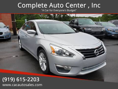 2013 Nissan Altima for sale at Complete Auto Center , Inc in Raleigh NC