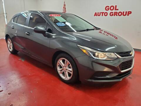 2017 Chevrolet Cruze for sale at GOL Auto Group in Austin TX