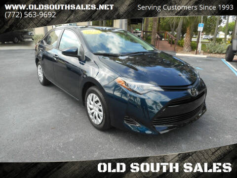 2019 Toyota Corolla for sale at OLD SOUTH SALES in Vero Beach FL