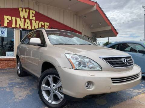 2007 Lexus RX 400h for sale at Caspian Auto Sales in Oklahoma City OK