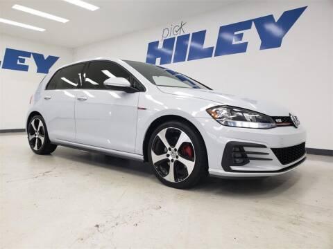 2018 Volkswagen Golf GTI for sale at HILEY MAZDA VOLKSWAGEN of ARLINGTON in Arlington TX