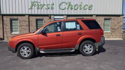 2003 Saturn Vue for sale at First Choice Auto in Greenville SC