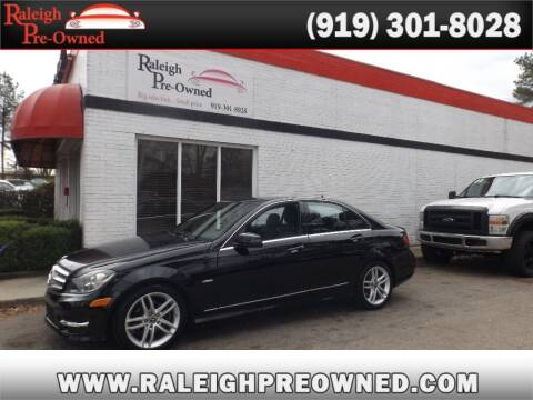 2012 Mercedes-Benz C-Class for sale at Raleigh Pre-Owned in Raleigh NC