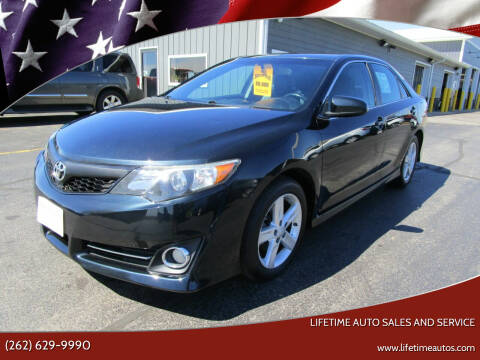 2014 Toyota Camry for sale at Lifetime Auto Sales and Service in West Bend WI
