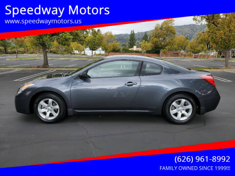 2009 Nissan Altima for sale at Speedway Motors in Glendora CA
