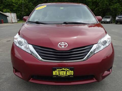2014 Toyota Sienna for sale at MOUNTAIN VIEW AUTO in Lyndonville VT