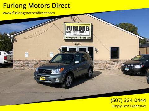 2005 Toyota RAV4 for sale at Furlong Motors Direct in Faribault MN