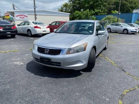 2009 Honda Accord for sale at M & J Auto Sales in Attleboro MA