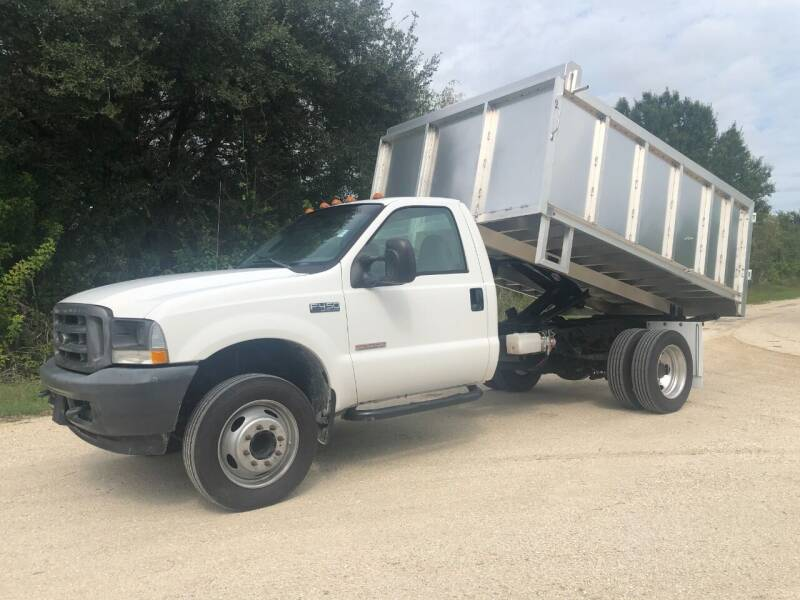 2004 Ford F-450 Power Stroke Dump Truck for sale at S & N AUTO LOCATORS INC in Lake Placid FL