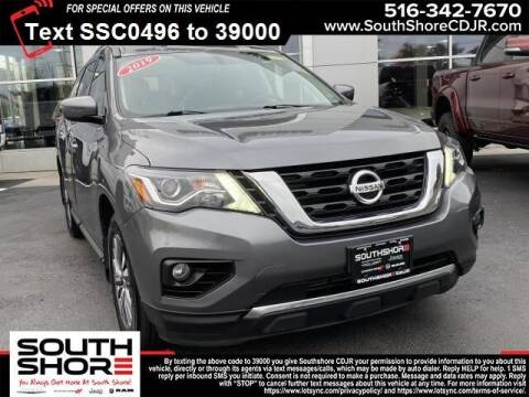 2019 Nissan Pathfinder for sale at South Shore Chrysler Dodge Jeep Ram in Inwood NY