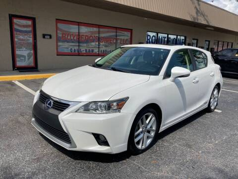 2014 Lexus CT 200h for sale at Top Garage Commercial LLC in Ocoee FL