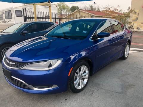 2015 Chrysler 200 for sale at Gold Star Motors Inc. in San Antonio TX