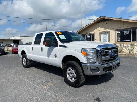 2016 Ford F-250 Super Duty for sale at The Trading Post in San Marcos TX