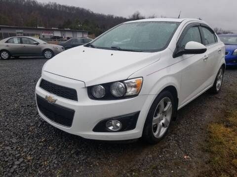 2012 Chevrolet Sonic for sale at Affordable Auto Sales & Service in Berkeley Springs WV