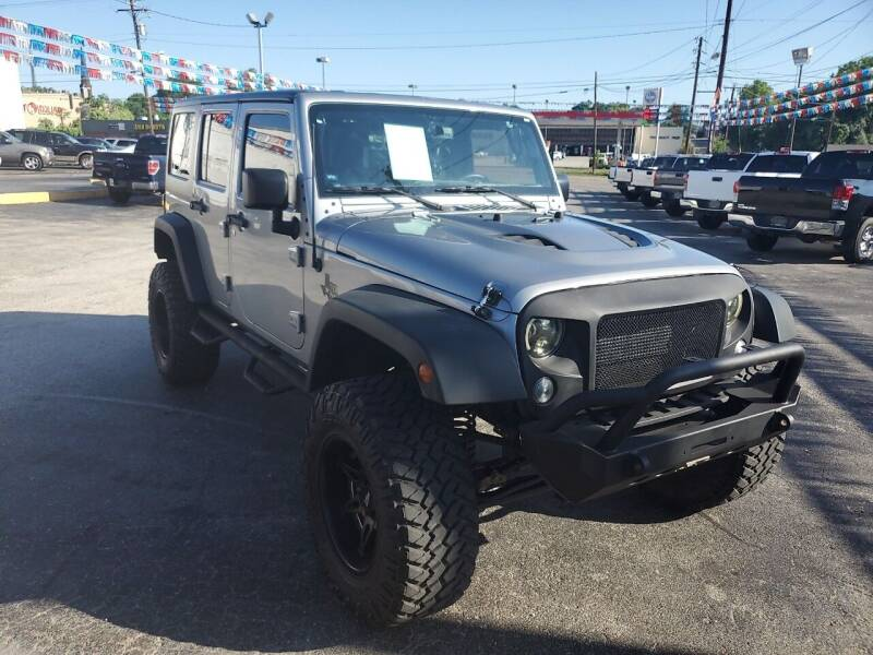 2015 Jeep Wrangler Unlimited for sale at Rutledge Auto Group in Palestine TX