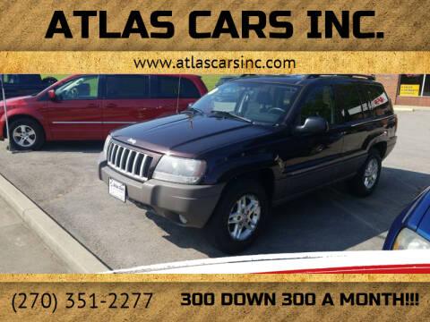 2004 Jeep Grand Cherokee for sale at Atlas Cars Inc. - Elizabethtown Lot in Elizabethtown KY