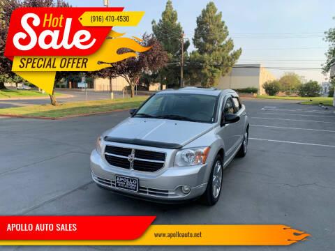 2008 Dodge Caliber for sale at APOLLO AUTO SALES in Sacramento CA