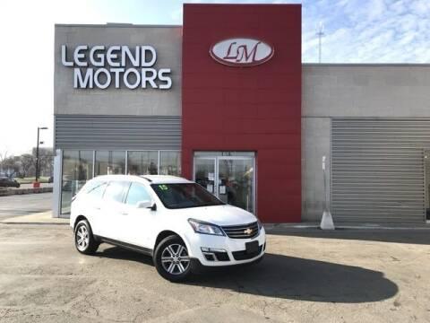 2015 Chevrolet Traverse for sale at Legend Motors of Waterford - Legend Motors of Ferndale in Ferndale MI