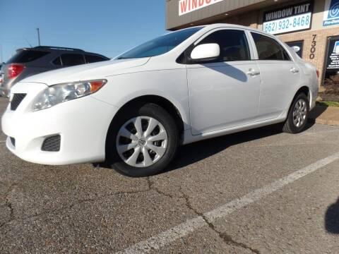 2009 Toyota Corolla for sale at Flywheel Motors, llc. in Olive Branch MS