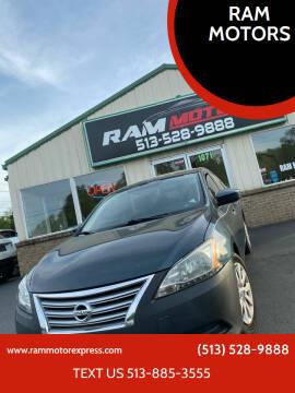 2013 Nissan Sentra for sale at RAM MOTORS in Cincinnati OH