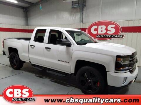 2018 Chevrolet Silverado 1500 for sale at CBS Quality Cars in Durham NC