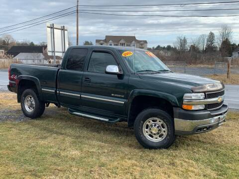 2002 Chevrolet Silverado 2500HD for sale at Saratoga Motors in Gansevoort NY