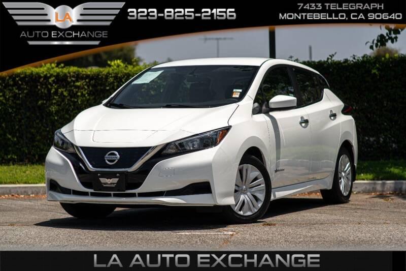 2018 Nissan LEAF for sale in Montebello, CA