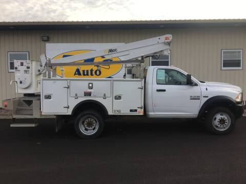 2016 RAM Ram Chassis 4500 for sale at TJ's Auto in Wisconsin Rapids WI