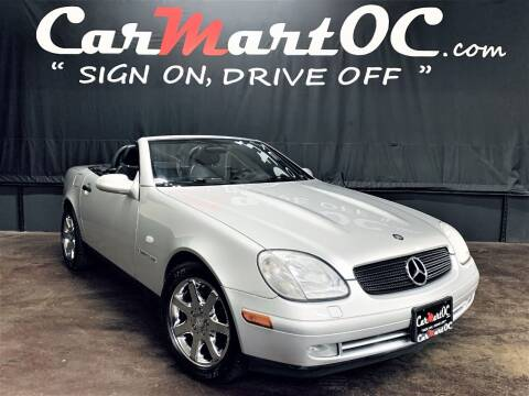 1998 Mercedes-Benz SLK for sale at CarMart OC in Costa Mesa, Orange County CA
