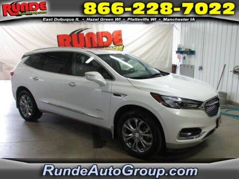 2019 Buick Enclave for sale at Runde PreDriven in Hazel Green WI