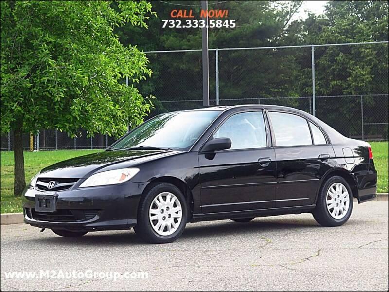 2005 Honda Civic for sale at M2 Auto Group Llc. EAST BRUNSWICK in East Brunswick NJ